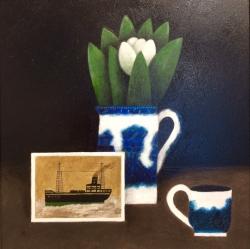 Alfred Wallis Postcard Painting