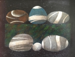 Six Stones Painting