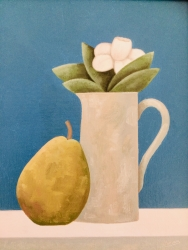 With a Pear Painting