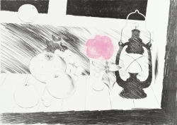 Lamplight Print by Mary Fedden