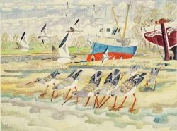 Waders Painting
