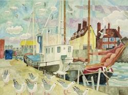 Maldon Quayside Painting
