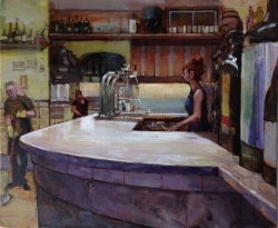 Marble Bar, Barcelona Painting