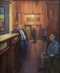 Dubliners Painting by Michael Smee