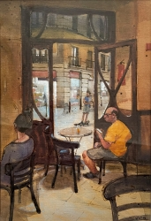 Casa Almirall, Barcelona Painting