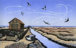 Thornham Sky Print