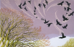 Over the Walnut Tree Print