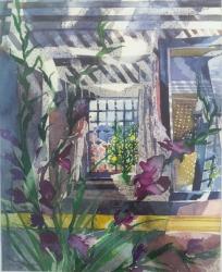 Venetian Purple Painting
