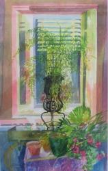 Murano Window Painting