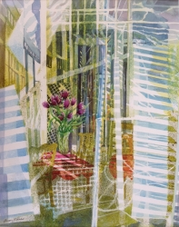 Tulip Room Painting
