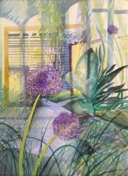 Allium Spring Painting