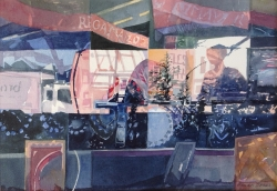 High Street Reflections Painting