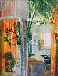 Orange Interior Painting