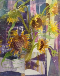 Garden Room Sunflowers Painting