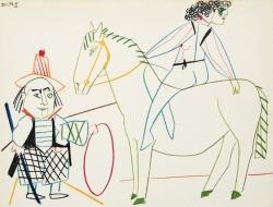 Circus Nude - La Comedie Humaine Print