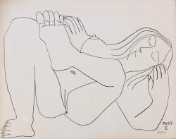 Femme Nue  no,IV Print