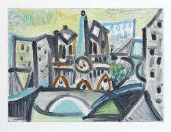 Notre Dame I-  Dans L'Ataleir de Picasso Suite Print