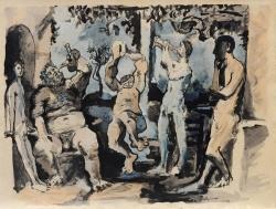 Bacchanal,1955 - Suite, Flute Double Print