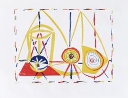 Composition- suite dans l'Atelier de Picasso Print