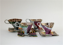 Cups and Saucers Ceramic