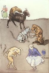 Old Mother Hubbard II Print