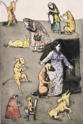 Old Mother Hubbard I Print