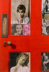 Girlie Door Print