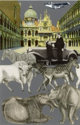 Venice Suite: Exotic Beasts Print by Peter Blake