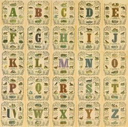 Appropriated Alphabet 11 Print