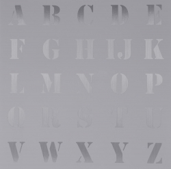 Appropriated Alphabet 5 Print