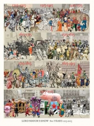 Lord Mayors Show 800 years 1215 to 2015 Print