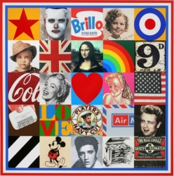 Some Sources of Pop Art 7 Print by Peter Blake