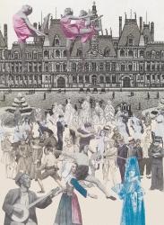 World Tour Series: Paris Dancing Print