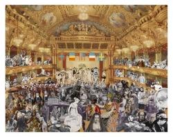 Marcel Duchamp - from World Tour Series Print