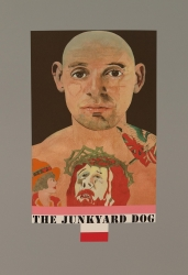 Junkyard Dog Print