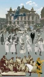 The Paris Suite: Paris Dancing Print