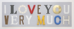 I love you very much Print