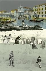 The Venice Suite: Iceburg 2 Print