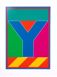 Y from the Dazzle Alphabet Print