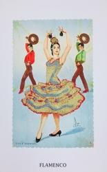 Reclaimed Icons: Flamenco Print