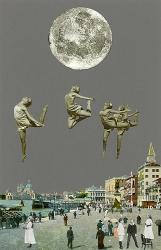 Dancing Over Venice Print