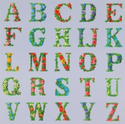 Appropriated Alphabet 8 Print