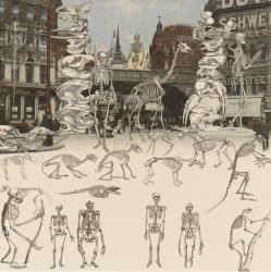 London Suite: Ludgate Circus - Day of the Skeletons Print
