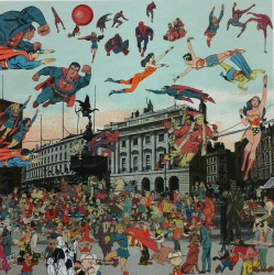 London Suite: Picadilly Circus Print