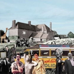Elvis Visits Farley Farm Print