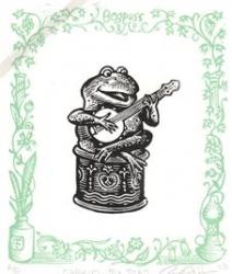 Gabiel the Toad Print