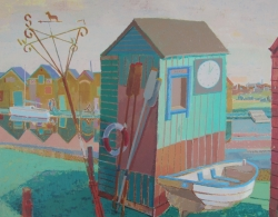Ferry to Southwold Painting
