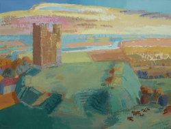 Orford Castle Painting