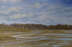 Fingringhoe Wick: February Painting