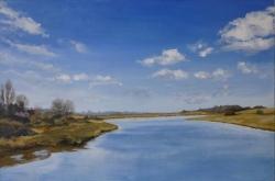 Cattawade: Winter Painting